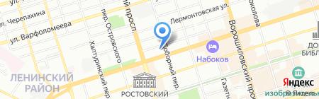 Summit Time на карте Ростова-на-Дону