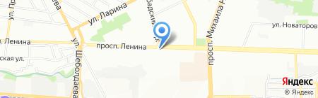 Ивис на карте Ростова-на-Дону