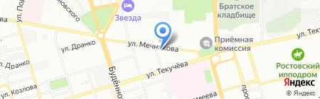 РосТеплоКомфорт на карте Ростова-на-Дону