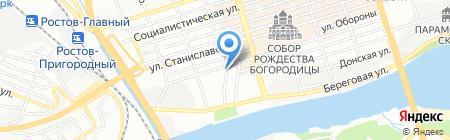Медицинские пиявки на карте Ростова-на-Дону