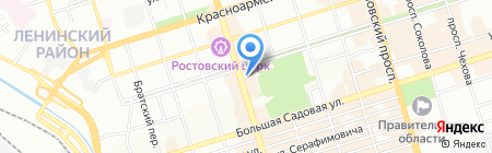 Мегагерц на карте Ростова-на-Дону