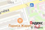 Схема проезда до компании Японика в Ростове-на-Дону