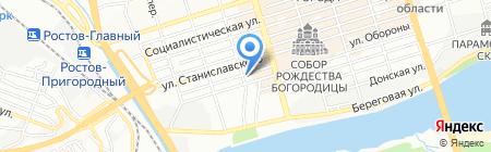DMS okna на карте Ростова-на-Дону