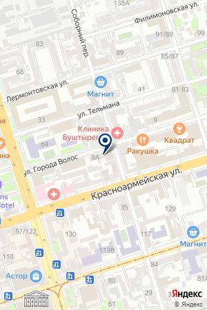 LUDOVIC на карте Ростова-на-Дону