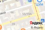 Схема проезда до компании Доберман-Юг в Ростове-на-Дону