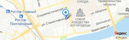 Бизнес Коммуникации на карте Ростова-на-Дону