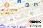 Схема проезда до компании Юридический многофункциональный центр в Ростове-на-Дону