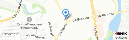 Обои-Юг на карте Ростова-на-Дону