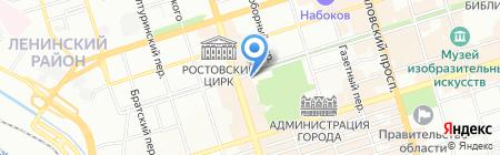 Детский сад №125 на карте Ростова-на-Дону