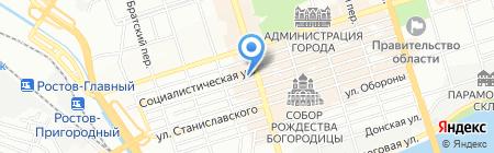 Белый Кот на карте Ростова-на-Дону