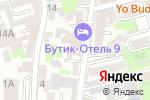 Схема проезда до компании ГинГо в Ростове-на-Дону