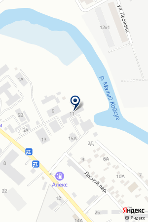 АЗС АЛЕКС на карте Батайска