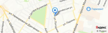 Лис-Арт на карте Ростова-на-Дону