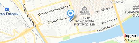 Строй Профит на карте Ростова-на-Дону