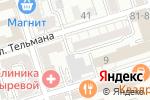Схема проезда до компании Нобигаз в Ростове-на-Дону
