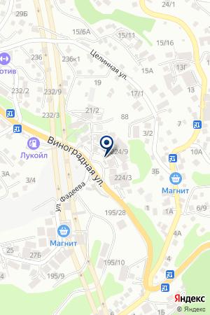 АЗС № 139 на карте Сочи