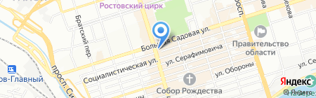 Купальники Круглый Год на карте Ростова-на-Дону
