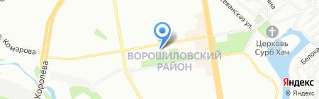Формула Сервиса на карте Ростова-на-Дону