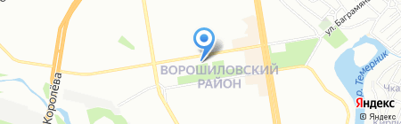 Безценный и Ко на карте Ростова-на-Дону