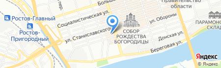 Быть добру на карте Ростова-на-Дону
