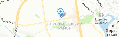 РСС ДОН на карте Ростова-на-Дону