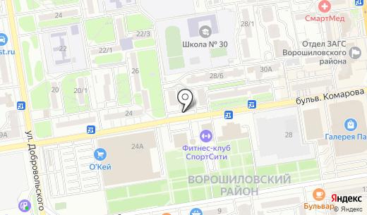 РСС ДОН. Схема проезда в Ростове-на-Дону