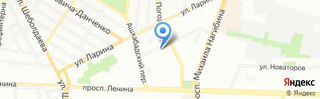 ГрандФиеста на карте Ростова-на-Дону