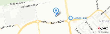 У Курочки на карте Ростова-на-Дону