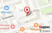 Схема проезда до компании Ама в Ростове-На-Дону