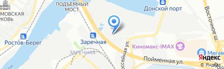 Жестянщик на карте Ростова-на-Дону