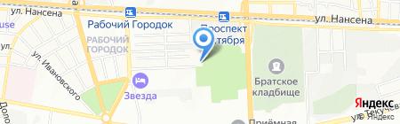 МПФ Строительство дорог на карте Ростова-на-Дону