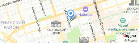 Союз журналистов России на карте Ростова-на-Дону
