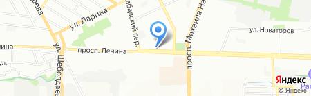 Дивал на карте Ростова-на-Дону