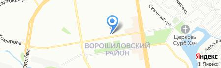 100% отдыха на карте Ростова-на-Дону