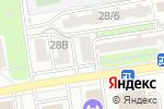 Схема проезда до компании Приоритет в Ростове-на-Дону