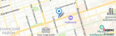 ЮгМебель на карте Ростова-на-Дону