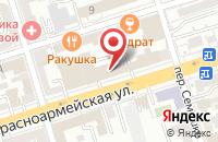 Схема проезда до компании Новые окна в Ростове-на-Дону