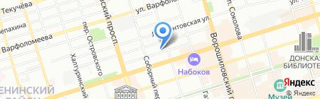 Банкомат Росгосстрах Банк на карте Ростова-на-Дону