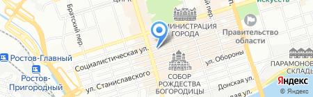 Электра на карте Ростова-на-Дону