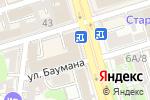 Схема проезда до компании Галерея времени в Ростове-на-Дону