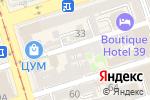 Схема проезда до компании Вимтех в Ростове-на-Дону