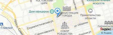 Эль Тур на карте Ростова-на-Дону