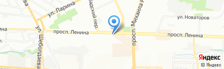 ТелеМост на карте Ростова-на-Дону