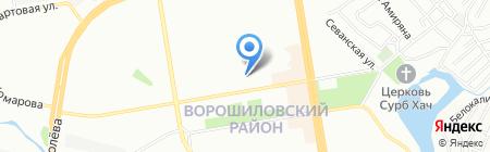 УФК на карте Ростова-на-Дону