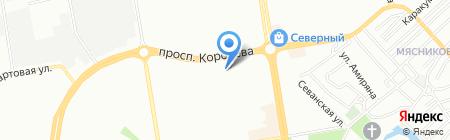 Дон-Инк на карте Ростова-на-Дону