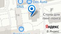 Компания Джинт на карте