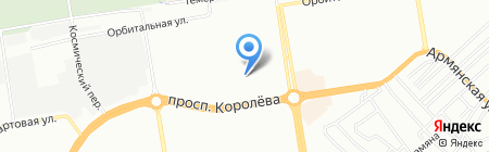 Детский сад №42 на карте Ростова-на-Дону