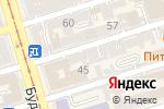 Схема проезда до компании Резонанс любви в Ростове-на-Дону