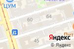 Схема проезда до компании Деловая литература в Ростове-на-Дону