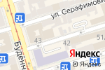 Схема проезда до компании My Community в Ростове-на-Дону